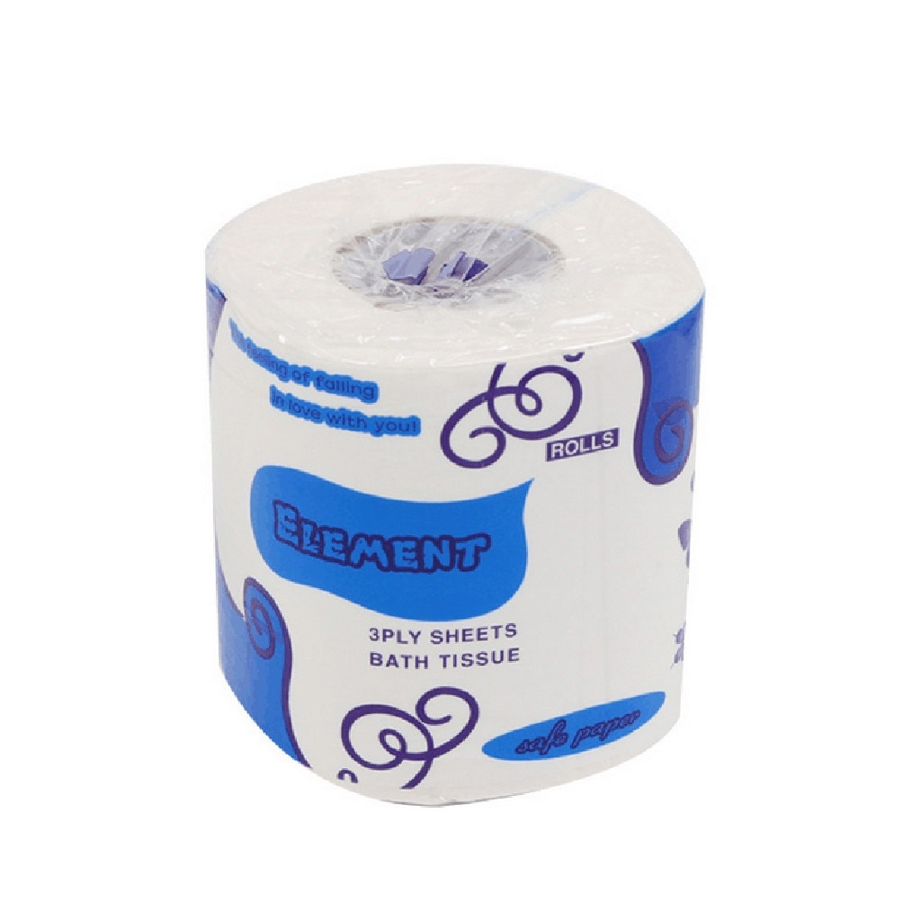 Clearance Sale Household 3-Ply Toilet Paper 10 Roll Bathroom Tissue Bath Tissue  Roll 10 Rolls